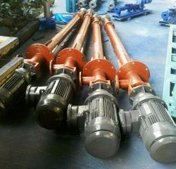 立式螺杆泵上的应用
