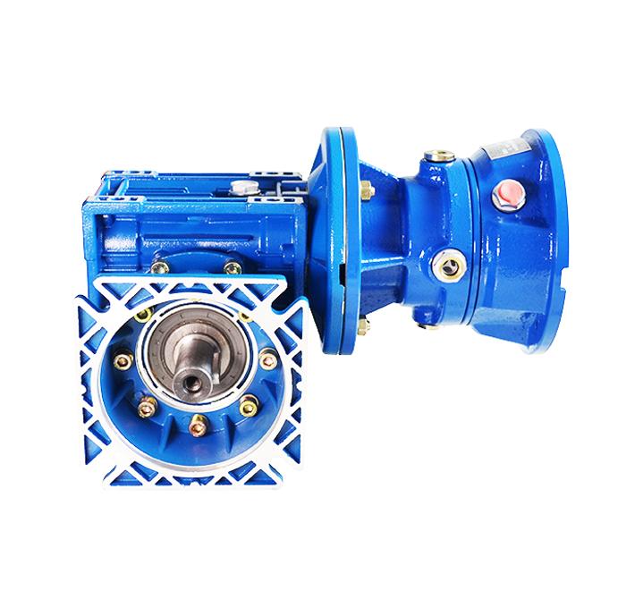 SWJL-SGF080立式实心轴输出组合型蜗轮蜗杆减速机